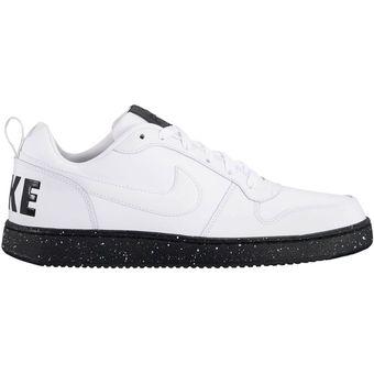 85df21c1e46 Compra Tenis Deportivos Hombre Nike Court Borough Low Se-Blanco ...