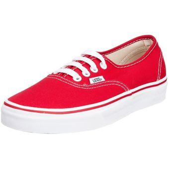 0eaa2c55e8 Compra Vans - Zapatillas Vans Authentic 0EE3RED Rojo online   Linio Perú