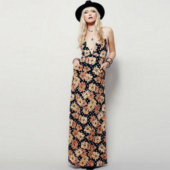 4a6422eb23a40 Compra Vestidos Mujer Vestido Maxi Vestido De Noche De Verano ...