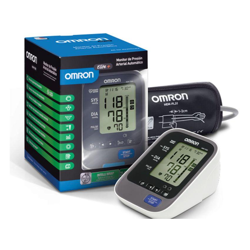 Monitor De Presión Arterial Automático Omron Elite + HEM-7320