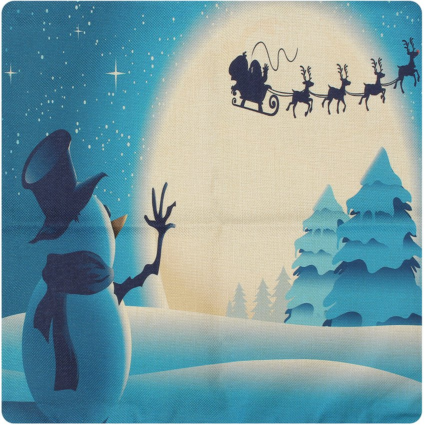 Funda De Almohada Cojín Lino Cubierta Navidda Christmas GE598HL08OB9ILMX frjnsCtD frjnsCtD H14Mso2e