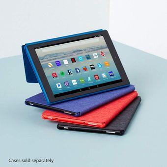 """Tablet Fire HD 10 con manos libres Alexa, pantalla Full HD de 10.1 """"y 1080p, 32 GB, negro"""