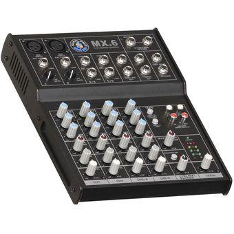Consola Mezclador Audio Topp Pro MX6USB