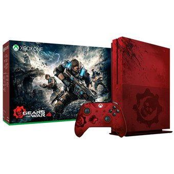 compra consola xbox one s 2tb gears of war 4 limited. Black Bedroom Furniture Sets. Home Design Ideas