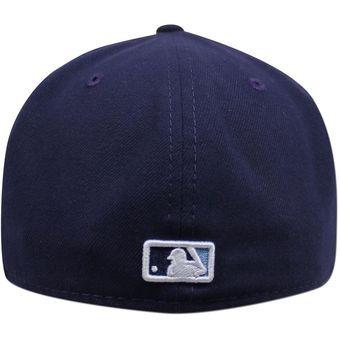 72766803fdbc6 Compra Gorra New Era 5950 MLB Tampa Bay Rays Ac Game Azul online ...