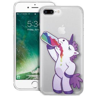 carcasa iphone 8 plus unicornio