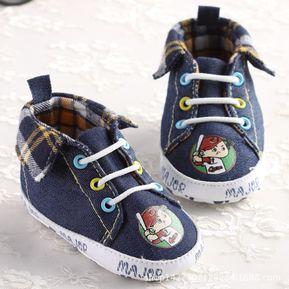 6096b126 zapatos antideslizantes PU suave piel de bebé moda niños