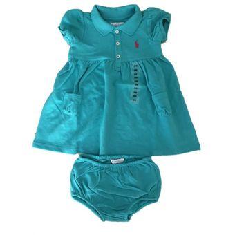 70677afc94 Compra Ropa Bebe. Vestido Polo Ralph Lauren Verde online