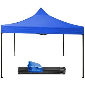 Carpa Toldo Lona 3x3m Plegable Impermeable Azul b279ea946acdc