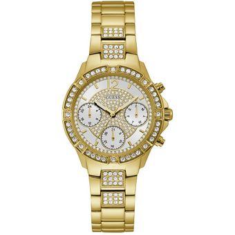 80f586e61fe7 Compra Reloj Guess Dama - W1071L2 ROXY Dorado online
