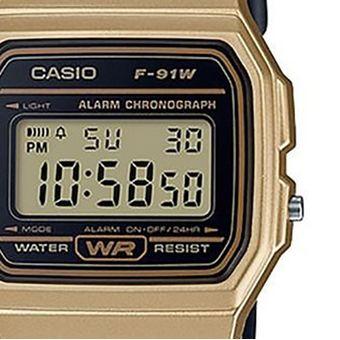 719dc98a7143f Compra Reloj Casio Vintage F91 Dorado Con Negro online
