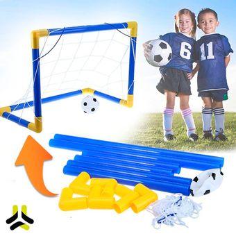 Compra Arco De Futbol Para Niños Armable Resistente + Pelota online ... 4670587fcb133