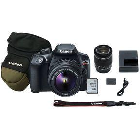 af32bbb126c38 Cámara Reflex Canon Eos Rebel T6 18-55 Wifi Y NFC 18 Mp-Negro