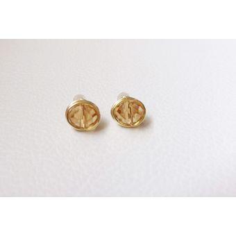d57d44b6b07b Compra Topos De Oro Goldfield Con Murano - Mostaza. online