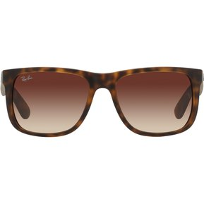 Gafas de Sol Ray Ban Justin 0RB4165 para Hombre-Havana Caucho claro afa482a3de
