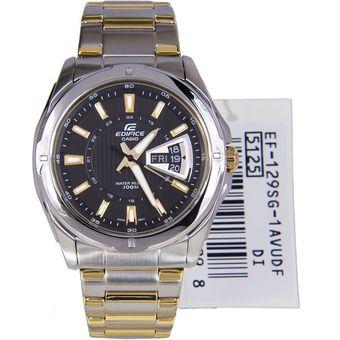 6c908e4ba54c Compra Reloj Casio Edifice EF-129SG-1A Análogo Plateado Para Hombre ...