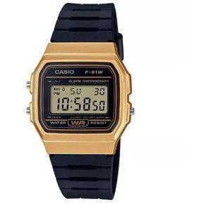 bb016b68339c Reloj Casio Retro F91wm-9adf Negro Unisex