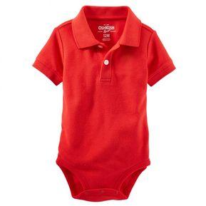 5369499b3e OshKosh - Polo Piqué de Algodón para Bebé Niño - Rojo