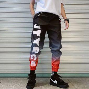 Nuevos Pantalones Modernos A La Moda Para Hombre Pantalones Anchos A La Moda De Black Linio Chile Ge018fa0tin15lacl
