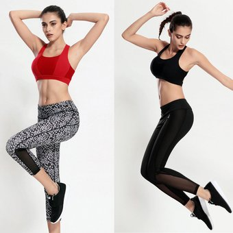 5deb14f1e2618 Agotado EW Modelos Femeninos Diseñados A Prueba De Golpes De Yoga  Transpirable Cruzar Los Estados Unidos De