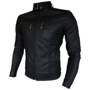 c230538ee0e Chaqueta Cuerotex Tipo Slim Casual Color Negro
