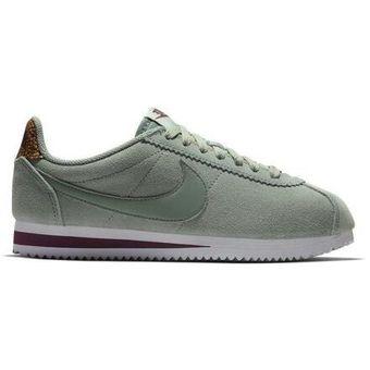 nuevo estilo de vida obtener nuevos acogedor fresco Tenis Mujer Nike Classic Cortez Premium-Verde