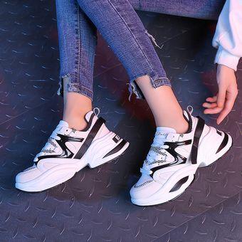 a52f0a07d237 Zapatillas red de moda para mujer-Blanco