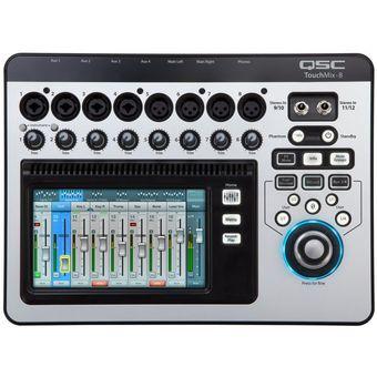Consola Digital Touch Mix 8 Qsc