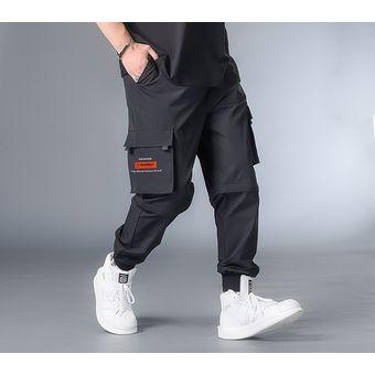 7xl 6xl 5xl Xxxxl Streetwear Cargo Pantalones Monos Hombres Harajuku Joggers Hombres Pantalones Clasicos Negro Primavera Track Pants Black Linio Colombia Ge063fa137vyzlco