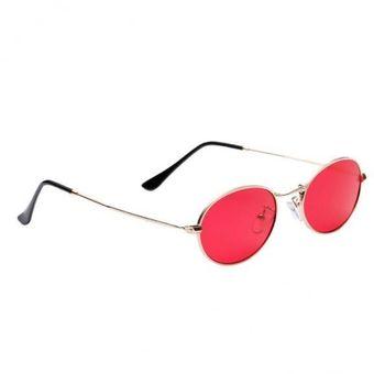 9677028ff2 Compra Gafas De Sol De Metal Redondas Vintage Para Hombres Y Mujeres ...