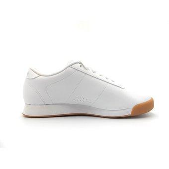 zapatos reebok princess blancos amarillos