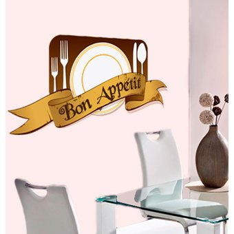 Vinilos Decorativos Imagine Design Seccion Comedor Diseños Originales -  Blanco o transparente