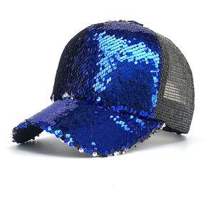 Sombrero Del Sol Al Aire Libre De Las Lentejuelas Gorra De Beisbol Mujer 625ad08fb285