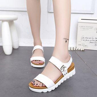 Sandalias Zapatos Plataforma Mujeres Altas Cómodos Verano El De qzSUMpVG