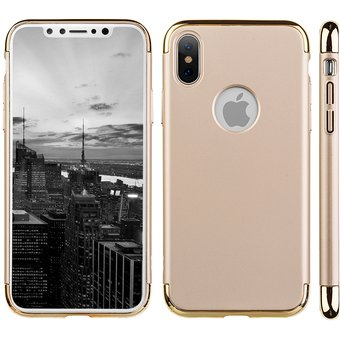 carcasa iphone x gold