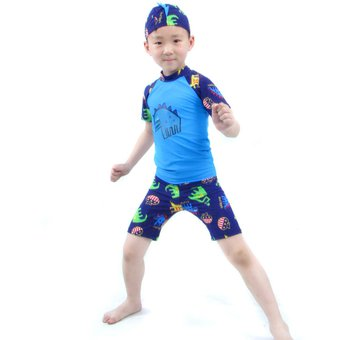 8b3ae86d7 Compra Traje De Baño Para Niño 2 Año - 10 Años (Azul) online