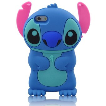b28319ac299 Agotado Funda Suave De Gel Forma Disney De 3D Stitch Silicona Carcasa Para  Apple IPhone SE /