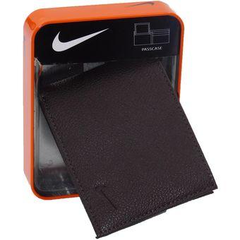 Passcase Hombre Marron Billetera Nike Billetera Nike YWIqP0nv