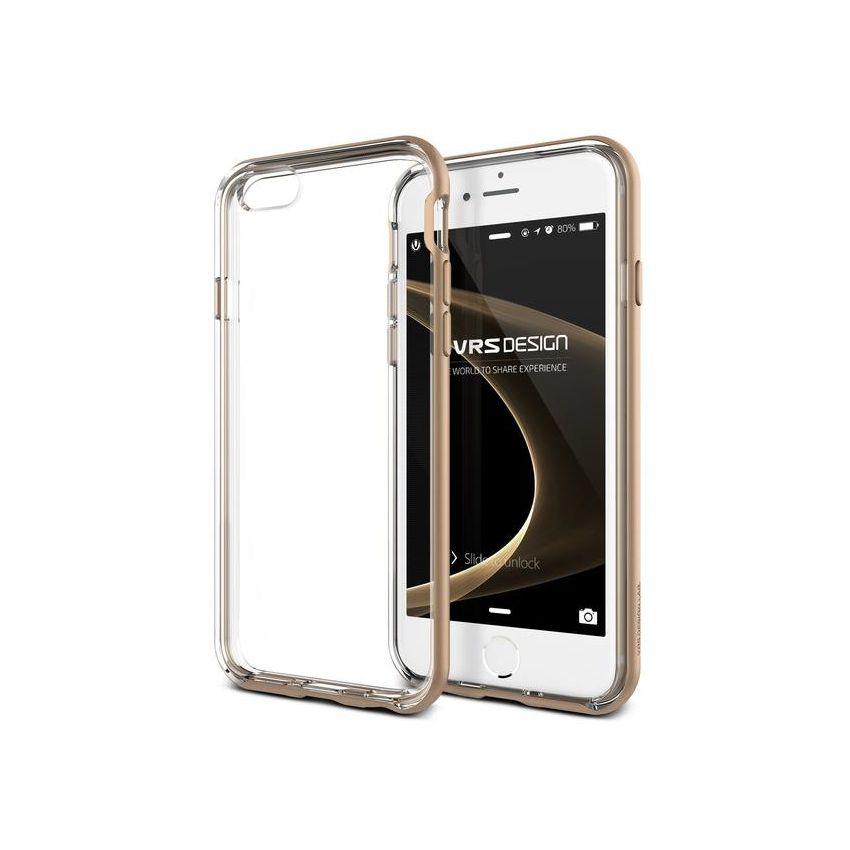 b28ff197093 Funda IPhone 6 PLUS Y 6S PLUS Marca VRS DESIGN (VERUS) Modelo Crystal Bumper  - Dorado