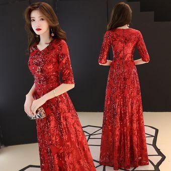 Preciosos Vestidos De Noche Formales Dorados Vestido De Lujo Estampa