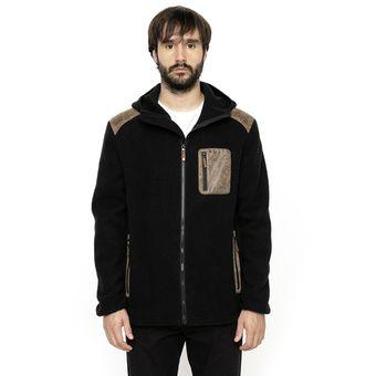 Polar Hombre Bor Sherpa Negro Kivul