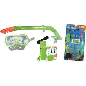 caa9f2f8e2 Kit De Natación Mascara Juego Submarino Para Niños Ecology