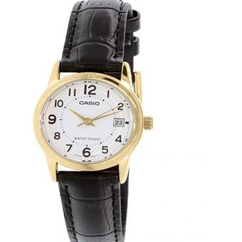6744408abc03 Compra Reloj Casio Mujer LTP-V002GL-7B Análogo Pulso Cuero Indicador ...