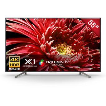 "Televisor Sony De 55"" 4k UHD Hdr Smart Android Tv XBR-55X857G LED"