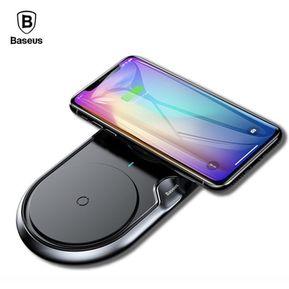 6ff0937db35 Cargador Inalambrico QI Doble Iphone XS MAX XR 8 Samsung Huawei