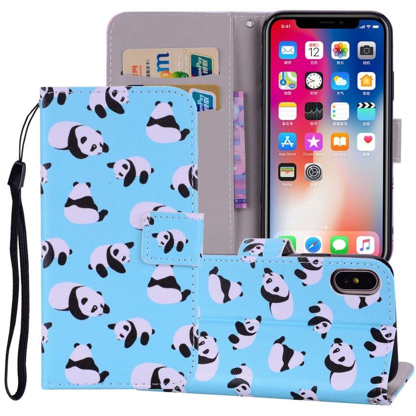 Para Iphone X Panda Patron Al Precio Más Bajo En Línea