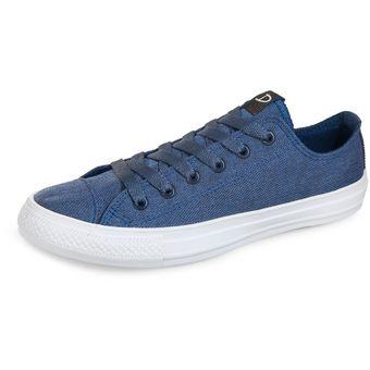 b153e388930 Compra Tenis canvas para hombre Discovery - Azul online