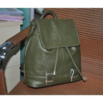 512a48e37 Compra Bolso De Cuero Femenino Bolso De Viaje Femenino Marea-Verde ...