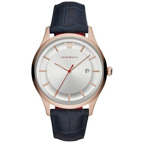 4fe674815fff Reloj Emporio Armani Caballero Dress AR11131 - Azul Marino   Dorado