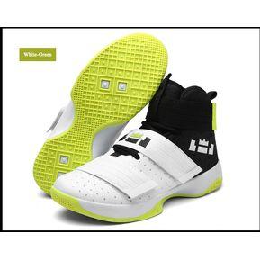 f1e592644c Zapatillas De Baloncesto Hombre Zapatos Hombre Ultra Zapatillas-Blanco verd